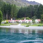 Homestead on Lake Wakatipu, Queenstown, New Zealand by Phil413Jay