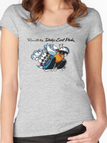 Dodge Scat Pack Women's Fitted Scoop T-Shirt
