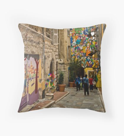 Grasse-France Throw Pillow