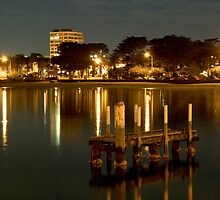 St Kilda Foreshore ,Melbourne  by Christine  Wilson Photography