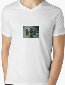 Don't get so absorbed in the game.... Mens V-Neck T-Shirt