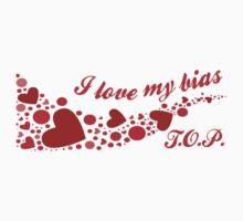 I LOVE MY BIAS SWIRL - T.O.P. Kids Tee