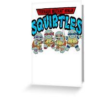 Teenage mutant ninja squirtles Greeting Card