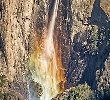 Rainbow on Bridal Veil Fall by TonyCrehan
