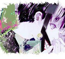 Tokyo Ghoul - Kaneki Ken (Ed Card)  by Onimihawk