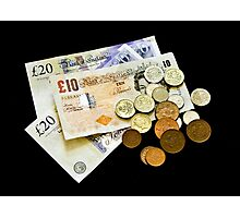Money Money Money Photographic Print