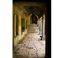 Angkor Thom Corridor Photographic Print