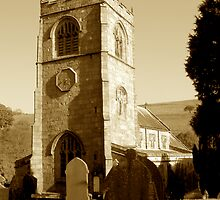 Burnsall Church, Yorkshire Dales by newbeltane