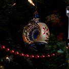 antique christmas decoration by Jeff stroud