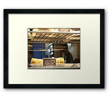 sausage pie Framed Print