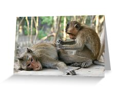 Monkey Island Pals Greeting Card