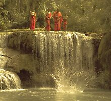 monks by the water by paul levy