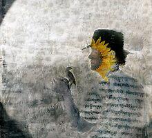 Sunflower Shaman by Elena Ray