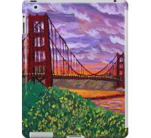 Golden Gate Bridge at Sunset iPad Case/Skin