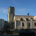 L&#x27;eglise Saint-Suaveur La Rochelle by Pamela Jayne Smith