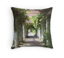 Vines and Archways Throw Pillow