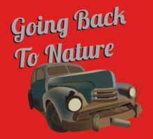Going Back to Nature Kids Tee