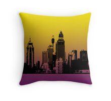 Sydney City Throw Pillow