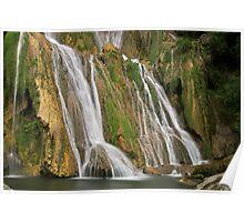 Glandieu waterfall Poster