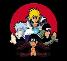 Red Moon HOKAGES by jeffrepublic