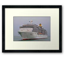 MS ARCADIA Framed Print