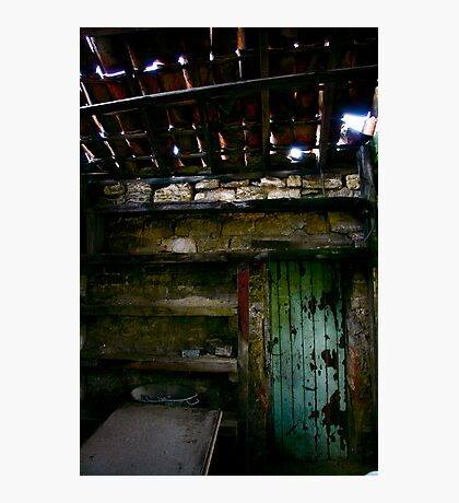 """Empty Shelves""  Photographic Print"