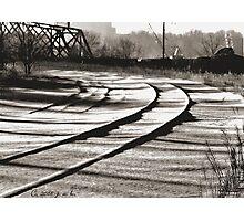 Hidden Tracks Photographic Print