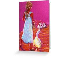 Little Mother Goose #2 Greeting Card