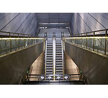 Kopenhagen subway station (1) Photographic Print