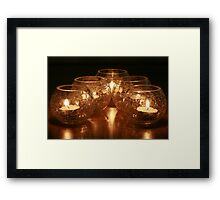 In the mood of LIGHT Framed Print
