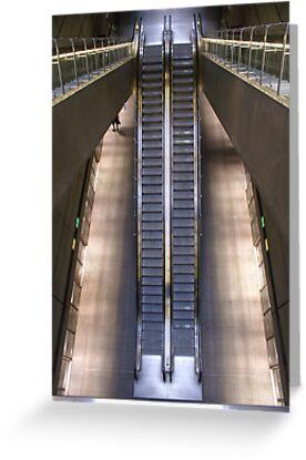 Kopenhagen subway station (2) by PeterBusser