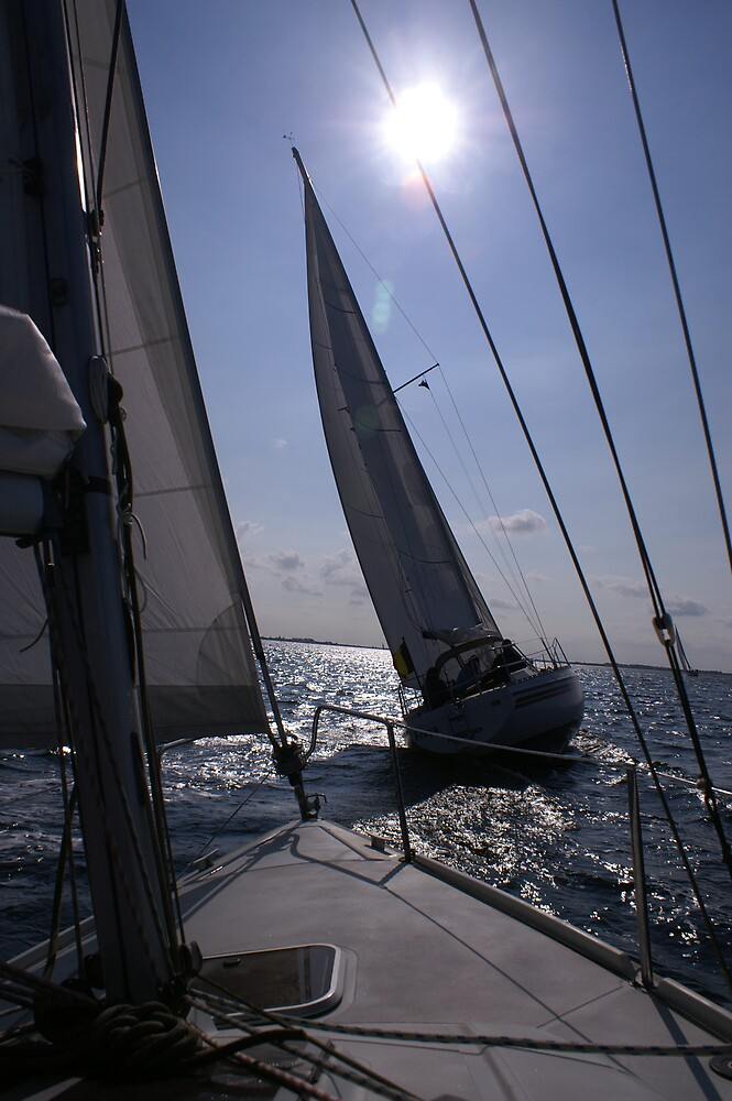 Sailing on Grevelingenmeer (The Netherlands) by PeterBusser