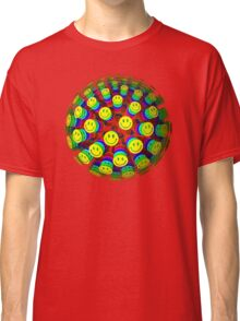 Smiling Happy Faces Classic T-Shirt