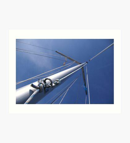 Sailing on IJsselmeer (2) Art Print