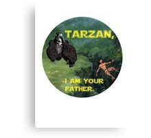 Tarzan Meets Star Wars Canvas Print
