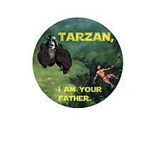 Tarzan Meets Star Wars Photographic Print
