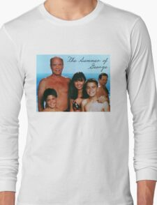 The Summer of George Long Sleeve T-Shirt
