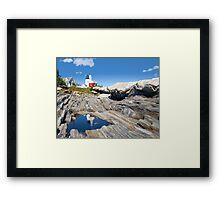 Scene in the Rocks Framed Print