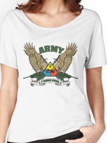 2nd Armored Division U.S. Army Women's Relaxed Fit T-Shirt