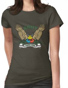 2nd Armored Division U.S. Army Womens Fitted T-Shirt