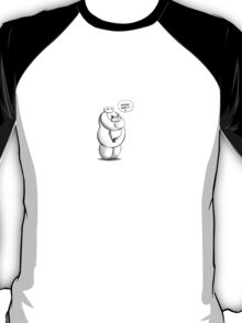 baymax and grumpy cat hairy baby two T-Shirt