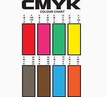 CMYK Color Chart Unisex T-Shirt