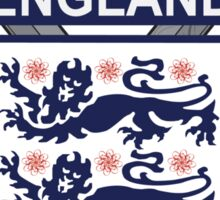 The Crest of England Sticker