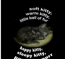 Soft Kitty Song by A4wiseowl