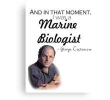 Marine Biologist Canvas Print
