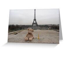 Barnaby in Paris Greeting Card