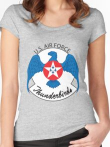 Air Force Thunderbirds Women's Fitted Scoop T-Shirt