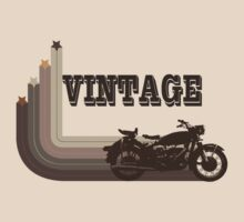 Vintage Motorcycle Tee by block33