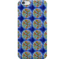 Tree of Life in Blue iPhone Case/Skin