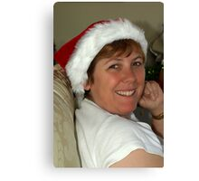 Mrs Clause Canvas Print